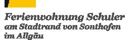 Ferienwohnung Schuler Logo